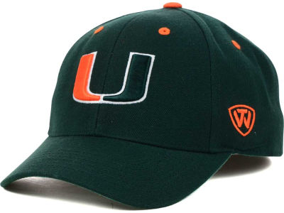 Miami Hurricanes Top of the World NCAA Memory Fit Dynasty Fitted Hat
