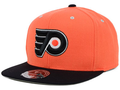 Philadelphia Flyers Mitchell and Ness NHL 2Tone High Crown Fitted Cap