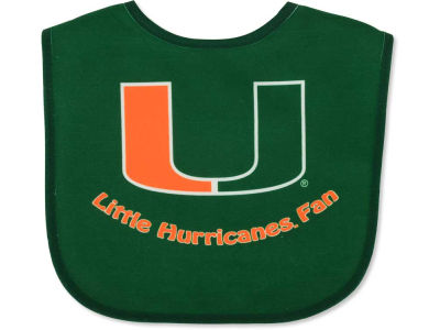 Miami Hurricanes All Pro Baby Bib