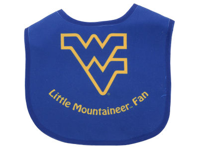 West Virginia Mountaineers All Pro Baby Bib