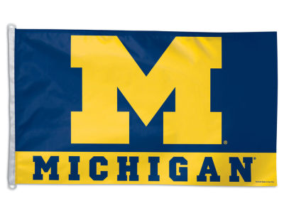Michigan Wolverines 3x5ft Flag