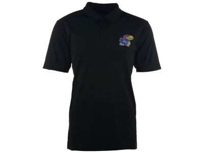 Kansas Jayhawks NCAA Men's Solid Polo Shirt