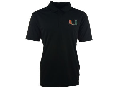 Miami Hurricanes NCAA Men's Solid Polo Shirt
