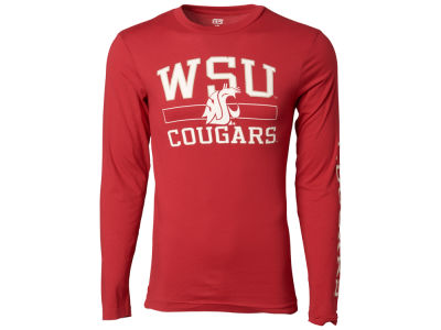 Washington State Cougars NCAA Men's Structured Long Sleeve T-Shirt