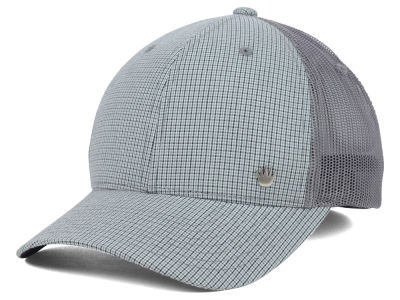 No Bad Ideas Promo Check Stretch Mesh Cap