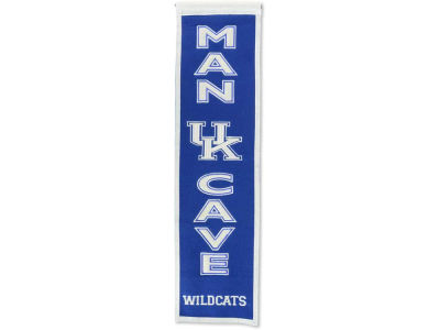 Kentucky Wildcats Winning Streak Man Cave Banner