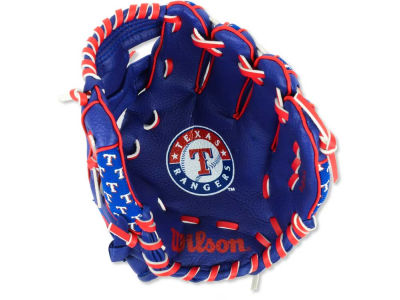 Texas Rangers Tee Ball Glove