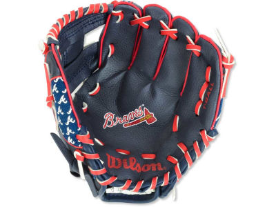 Atlanta Braves Tee Ball Glove
