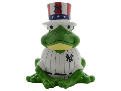 New York Yankees Thematic Frog Figure