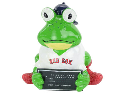 Boston Red Sox Thematic Frog Figure