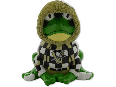 Pittsburgh Penguins Thematic Frog Figure