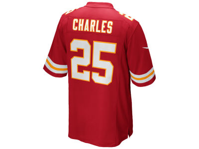 Kansas City Chiefs Jamaal Charles Nike NFL Game Jersey Extended Size