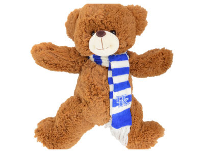 Kentucky Wildcats Cocoa Bear with Scarf