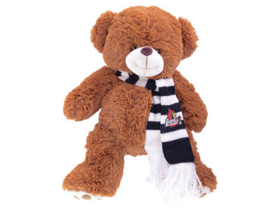 Louisville Cardinals Cocoa Bear with Scarf