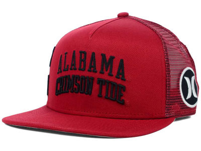Alabama Crimson Tide Hurley NCAA Team Block Party Trucker