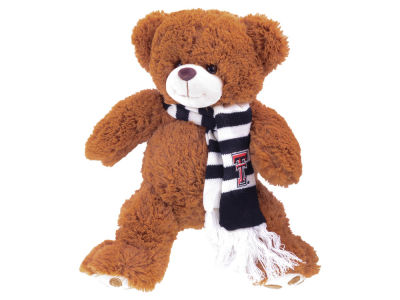 Texas Tech Red Raiders Cocoa Bear with Scarf