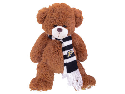 Purdue Boilermakers Cocoa Bear with Scarf