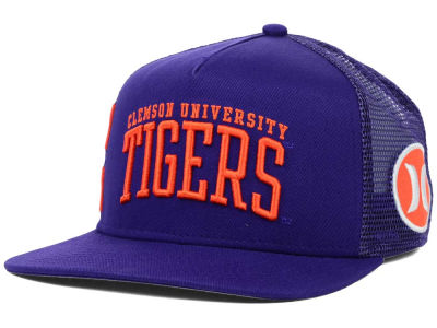 Clemson Tigers Hurley NCAA Team Block Party Trucker