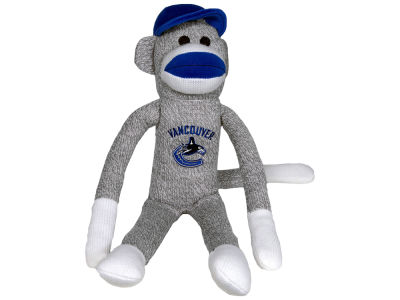 Vancouver Canucks Sock Monkey