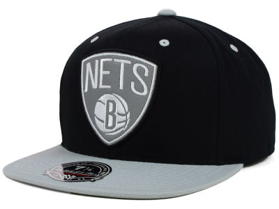 Brooklyn Nets Mitchell and Ness NBA Reflectice Fitted Cap
