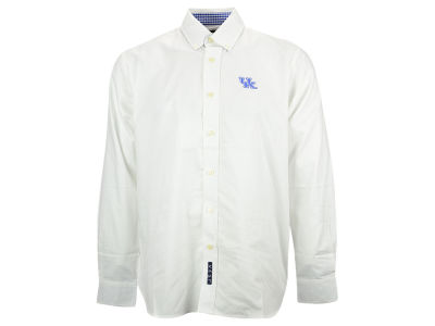 Kentucky Wildcats NCAA Men's Gingham Woven Button Up Shirt