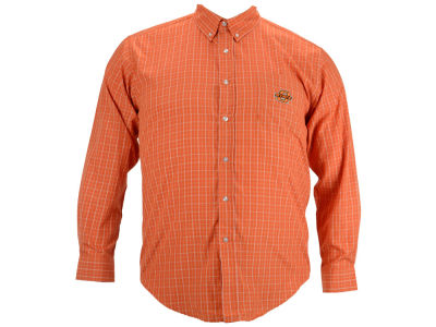 Oklahoma State Cowboys Vesi NCAA Men's Gingham Woven Button Up Shirt