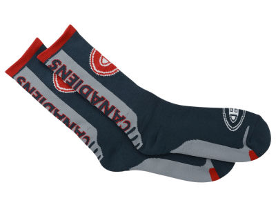 Montreal Canadiens Jump Key Curve Sock