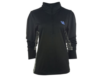 Kentucky Wildcats NCAA Women's Variegated 1/4 Zip Pullover Shirt