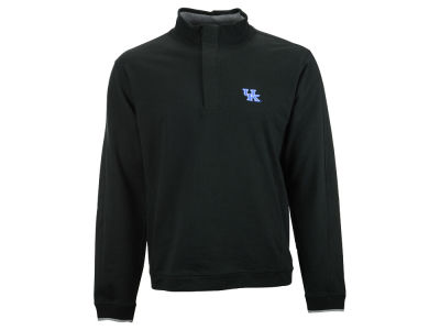 Kentucky Wildcats NCAA Men's Solid 1/4 Zip Pullover Sweater