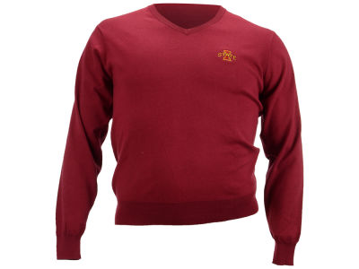 Iowa State Cyclones NCAA Men's Solid V-Neck Sweater