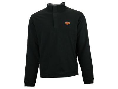 Oklahoma State Cowboys NCAA Men's Solid 1/4 Zip Pullover Sweater