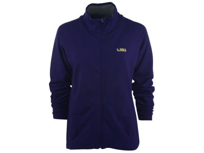 LSU Tigers NCAA Women's Full Zip Sweater