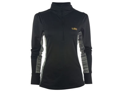 LSU Tigers NCAA Women's Variegated 1/4 Zip Pullover Shirt
