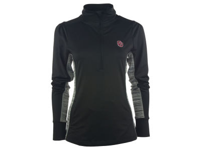 Oklahoma Sooners NCAA Women's Variegated 1/4 Zip Pullover Shirt