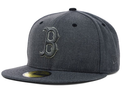 Boston Red Sox New Era MLB Graphite Heather 59FIFTY Cap
