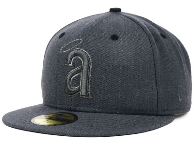 Los Angeles Angels New Era MLB Graphite Heather 59FIFTY Cap
