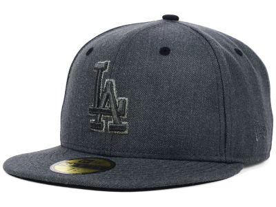 Los Angeles Dodgers New Era MLB Graphite Heather 59FIFTY Cap