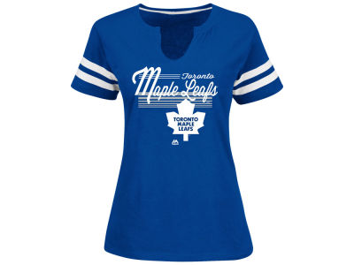 Toronto Maple Leafs NHL Women's Goal Cage T-Shirt
