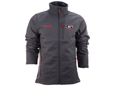 Georgia Bulldogs Columbia NCAA Ascender Softshell Jacket