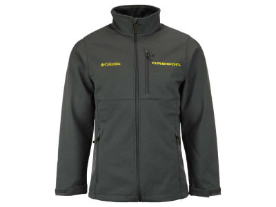 Oregon Ducks Columbia NCAA Ascender Softshell Jacket