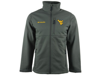 West Virginia Mountaineers Columbia NCAA Ascender Softshell Jacket