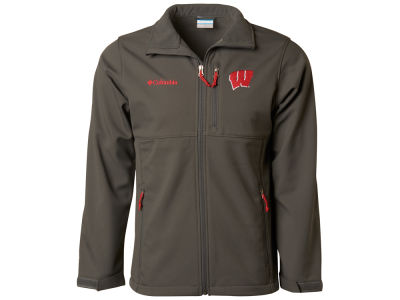 Wisconsin Badgers NCAA Ascender Softshell Jacket
