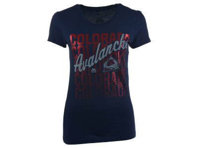 Colorado Avalanche NHL Women's Hip Check T-Shirt