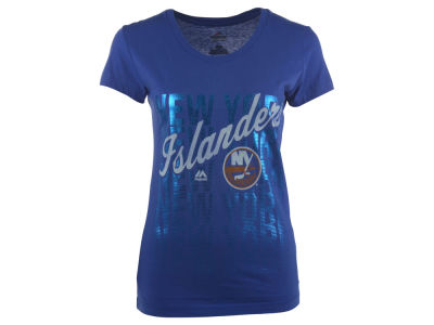 New York Islanders NHL Women's Hip Check T-Shirt