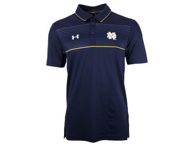 Notre Dame Fighting Irish Under Armour NCAA Men's Win It Staff Polo Shirt