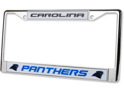 Carolina Panthers Chrome Frame
