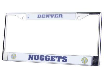 Denver Nuggets Chrome Frame