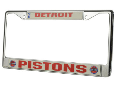 Detroit Pistons Chrome Frame