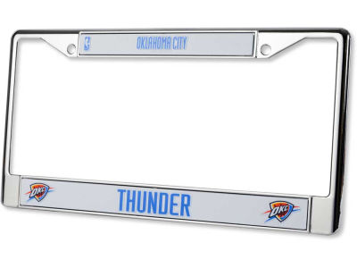 Oklahoma City Thunder Chrome Frame