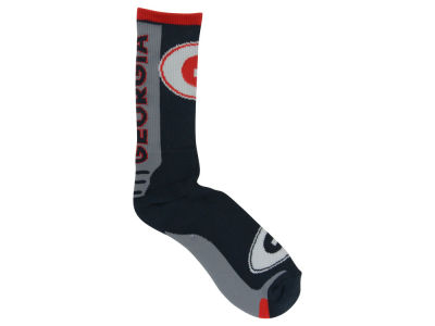 Georgia Bulldogs Jump Key Curve Sock